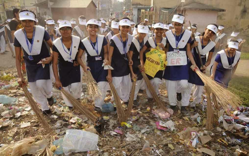 View Patna2 St Joseph S School Girls Join Swachh Bharat