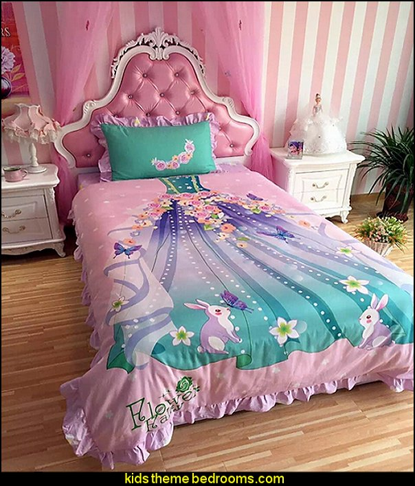Magic Fairy Dress Pattern 4-Piece Duvet Cover Sets