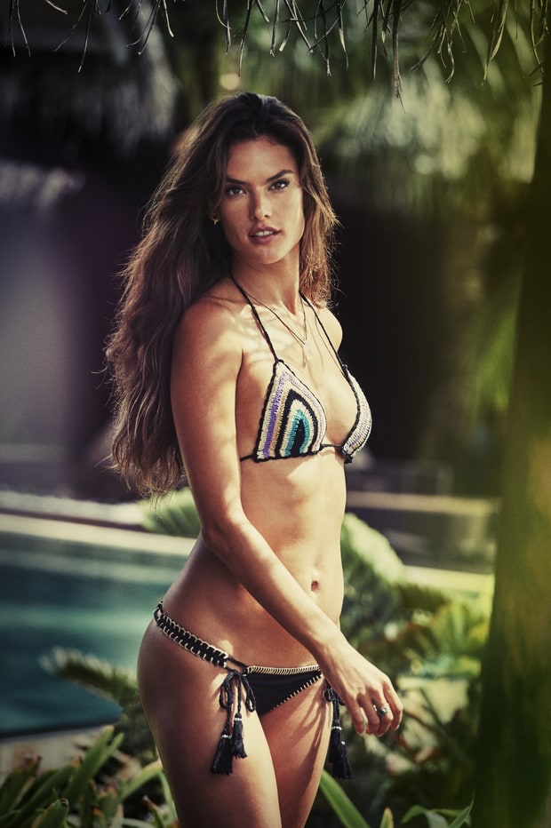 Alessandra Ambrosio flaunts bikinis for Ale by Alessandra Resort 2017 Campaign