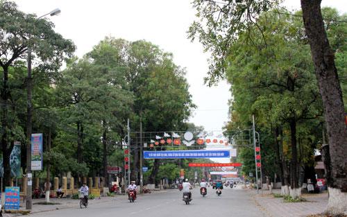 Vị trí thuận lợi của thành phố Bắc Giang