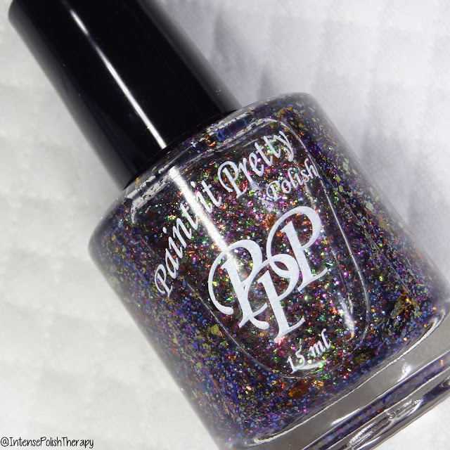 Paint It Pretty Polish Autumn Galaxy | Fantasmic Flakies Exclusive