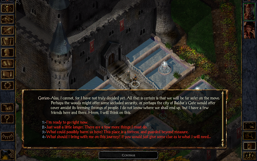 Baldur's Gate Enhanced Edition Apk Data Full Android