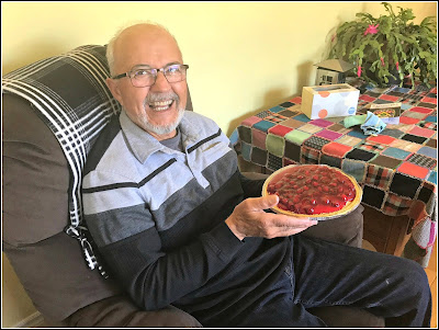 April 13, 2019 Celebrating Paul's birthday when everyone is home.