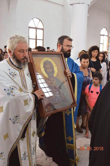 Ο Άγιος Ευγένιος, πολιούχος της Τραπεζούντας, τιμήθηκε στα Πετρωτά