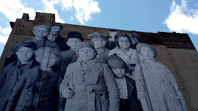 Young Faces Street Art