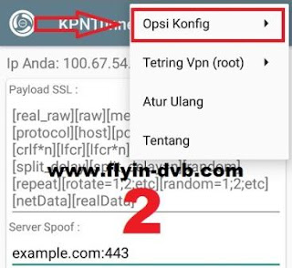 Cara Export Config KPN Tunnel Rev