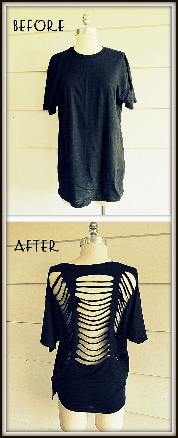 WobiSobi: No Sew, Ladder Tee-Shirt, DIY. The Gigi.