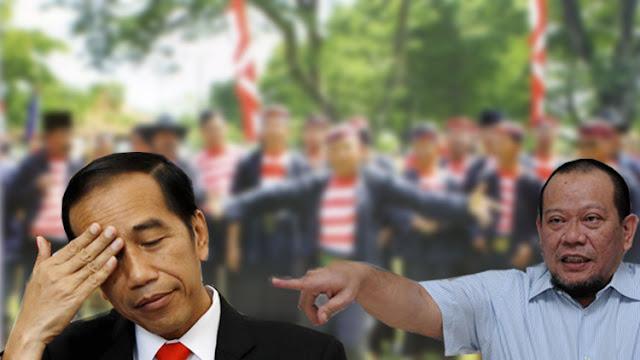 Akui Sebar Fitnah PKI, Presiden Jokowi Belum Tabok La Nyalla