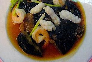 Fried Sea Leech Hat Yai Style
