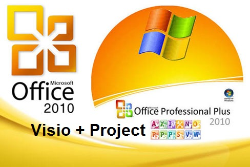 Microsoft Office 2010 SP2 Pro Plus + Visio + Project