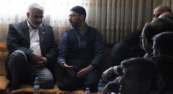 Zekeriya Yapıcıoğlu'ndan Yusufi Mustafa Dayan'a taziye ziyareti