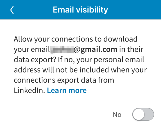LinkedIn cuts off email address exports with new privacy setting