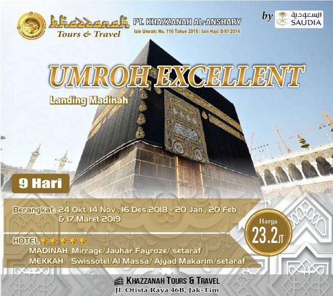 Travel Khazzanah Tour Umroh Exellent