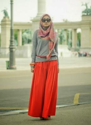 Contoh Model Baju Gamis Ala Dian Pelangi Danitailor