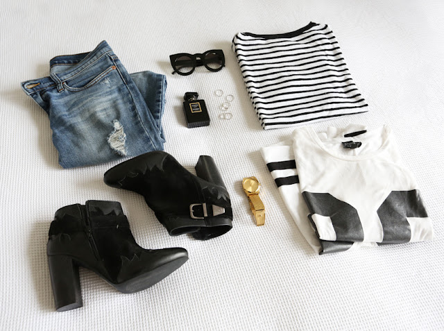 fashion flatlay