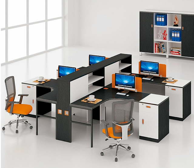 Ghế nhân viên nhập khẩu với thiết kế ấn tượng sẽ giúp các nhân sự có được tâm lý thoải mái, thăng hoa hơn trong công việc