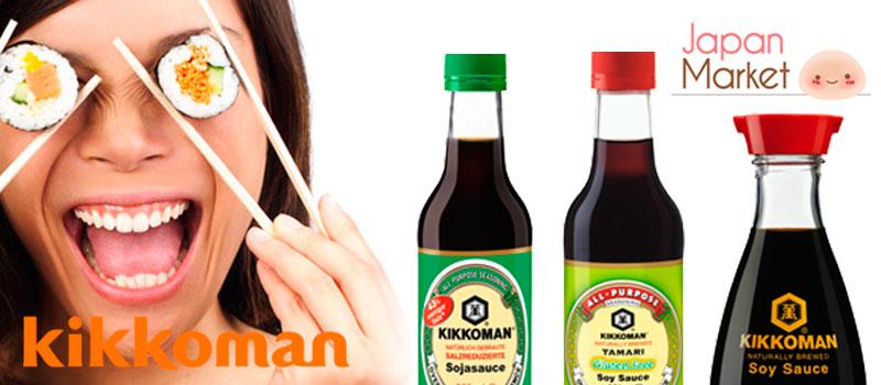 Salsas y condimentos kikkoman en JapanMarket.com