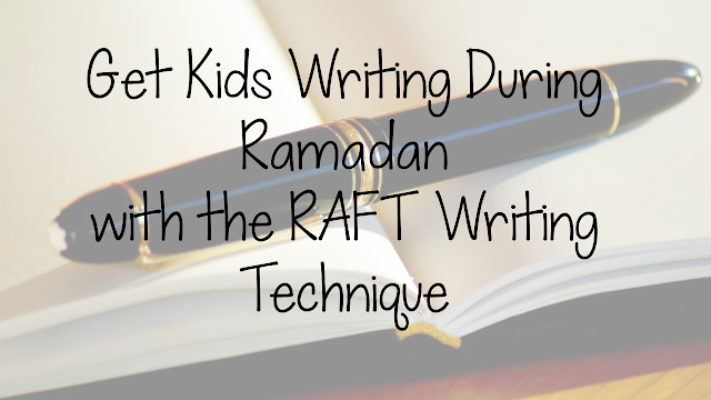 Creating Ramadan Writing Prompts using RAFT