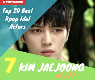 Kim Jaejoong of JYJ