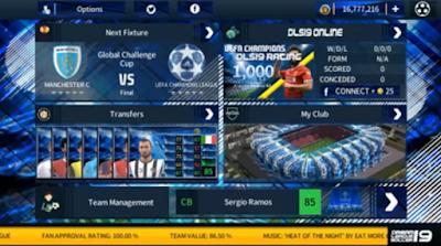 DLS 19 Mod UEFA Champions League