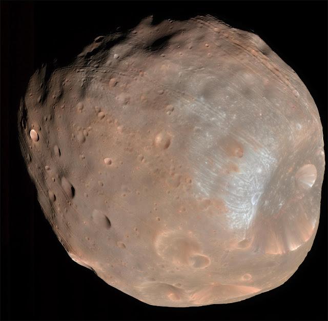 Phobos, lua de Marte