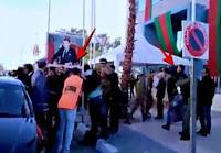 بوليف يفر  وسط احتجاجات قوية استدعت تدخل قوات الأمن