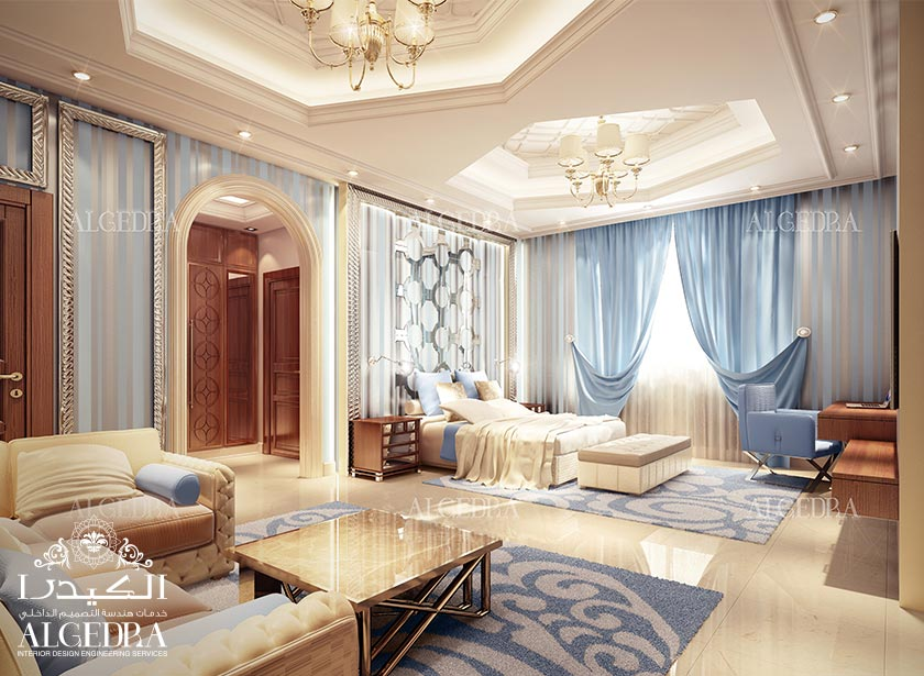 Luxury Bedroom Design Abu Dhabi Creates Havens of Elegance. Algedra Interior and Exterior Design  UAE