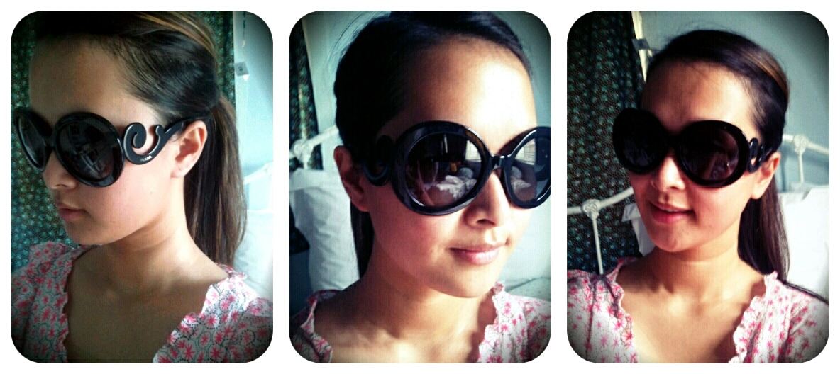 00d2de0caa3 ... Australia  Prada Baroque Sunglasses . I love them