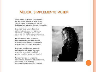 Día de la Mujer, Poemas