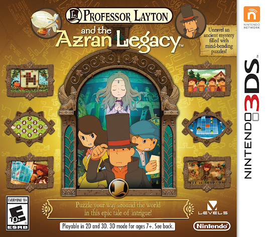 Professor Layton and the Azran Legacy (3DS) Review