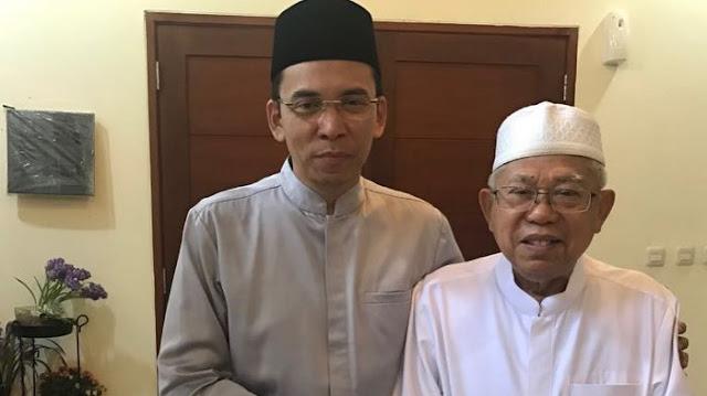 Direktur Median Nilai Daya Tarik Ma'ruf Amin Memudar, Mirip Ketika TGB Gabung Jokowi