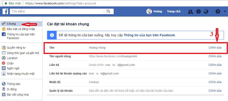 tên tài khoản đăng nhập Facebook_2