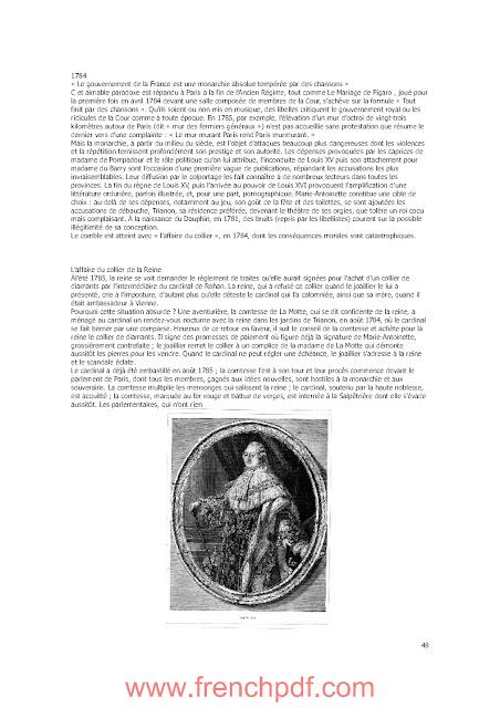 L'histoire de France en 100 mots célèbres de Maurice Meuleau PDF Gratuit