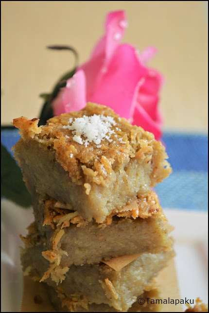 Vegan Carribean Sweet Potato Pudding