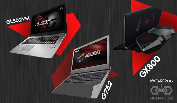 IMBA, Ini dia 7 alasan kenapa kamu harus pilih laptop ROG!