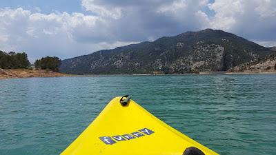 Pantano Pena, kayak, piragua, remo