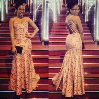 Ankara Dresses Styles For Dinner Long Evening Wears For