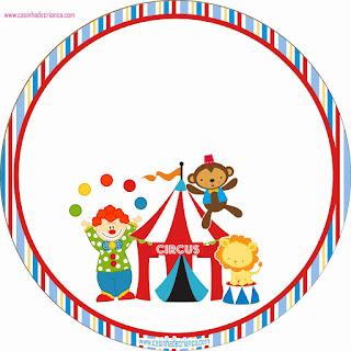 Mini Kit del Circo para Imprimir Gratis.