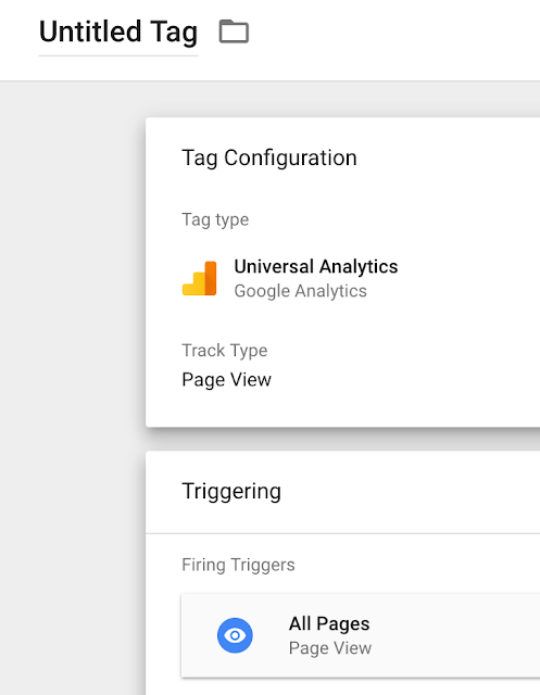 Add Google Analytics using Google Tag manager
