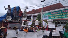Ratusan Petani di Pati Gelar Unjuk Rasa Tolak Beras Impor