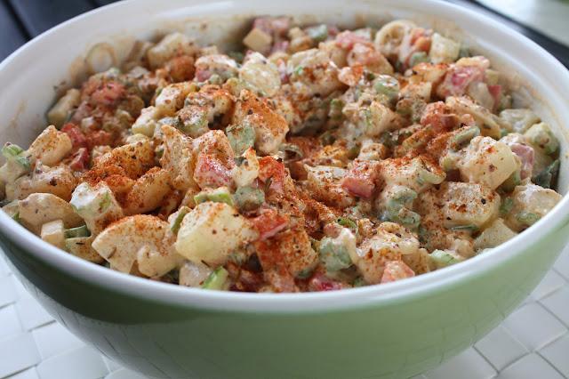 kreolilainen perunasalaatti kreoli kreol food amerikkalainen potato salad