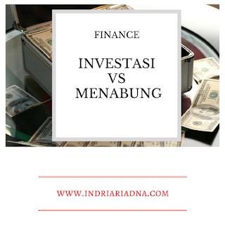 perbedaan antara investasi dan tabungan