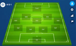 online soccer manager 451 formation
