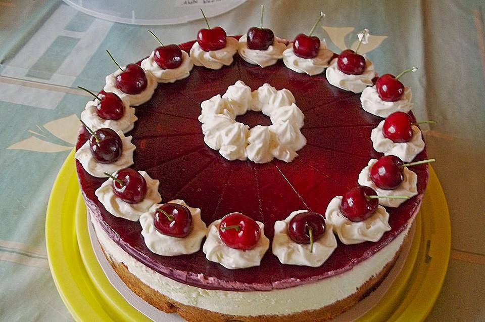 Kochen Backen Geniessen Rotkappchen Torte