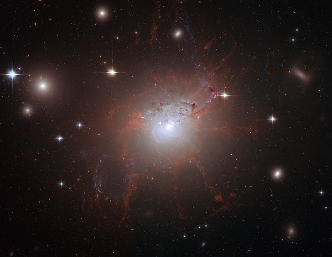 Magnetic monster NGC 1275 | Image of the day
