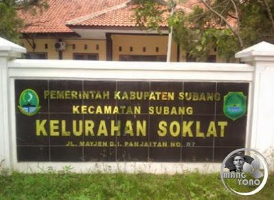 Kelurahan Soklat, Kecamatan Subang