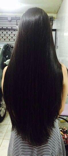 merawat rambut panjang secara alami