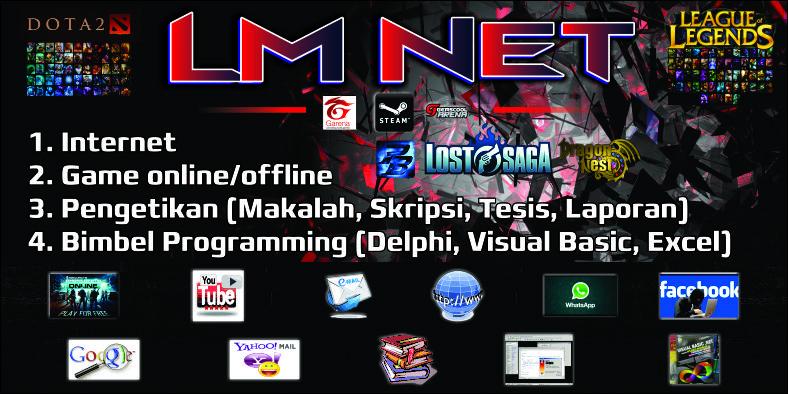 Contoh Banner Warnet Game Online - Rasmi W