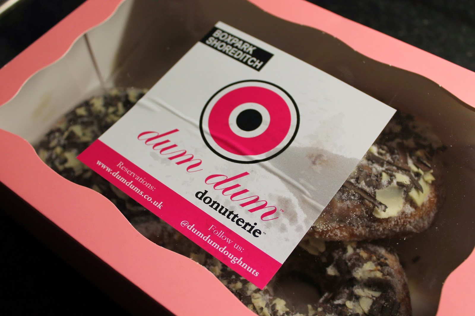 Dum Dum Donutterie - Donuts Doughnuts -Box Park Shoreditch Review
