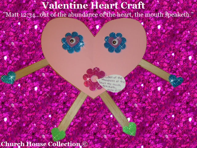 church house collection blog: valentine's day heart craft for, Ideas